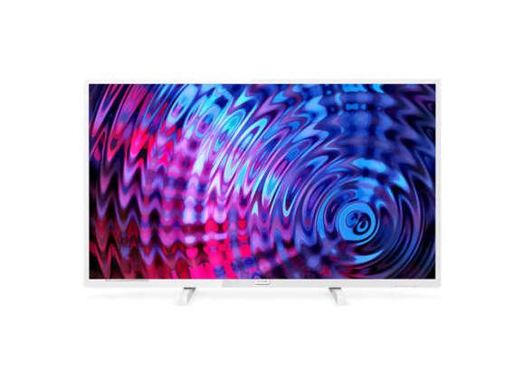 "Philips Philips 32PFS5603/12 32"" (81 cm), Full HD Ultra Slim LED, 1920 x 1080 pixels, DVB T/C/T2/T2-HD/S/S2, White"