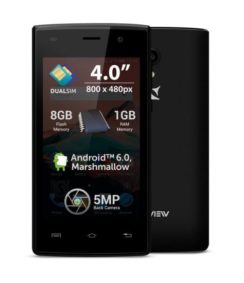 Allview A5 Ready Black nutitelefon