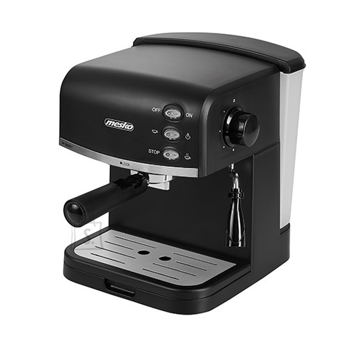 Mesko Mesko Espresso coffee machine  MS 4409  Pump pressure 15 bar, Built-in milk frother, Semi Automatic, 850 W, Black