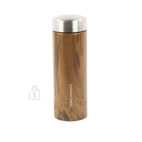 Yoko Design Termospudel, Wood, 0.35 L, Bisphenol A (BPA) free