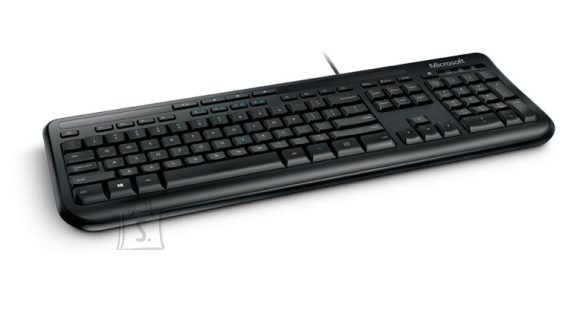 Microsoft Microsoft ANB-00021 Wired Keyboard 600 Multimedia, Wired, Keyboard layout EN, 2 m, Black, English, 595 g