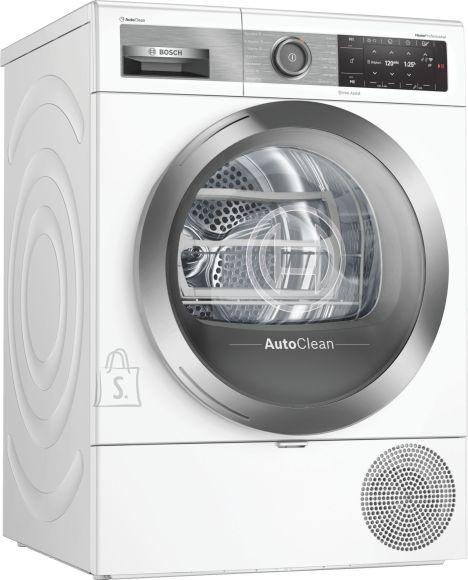 Bosch Bosch Dryer mashine WTX8HEL9SN Energy efficiency class A+++, Front loading, 9 kg, Heat pump, TFT, Depth 60 cm, Wi-Fi, Steam function, White, Home Connect
