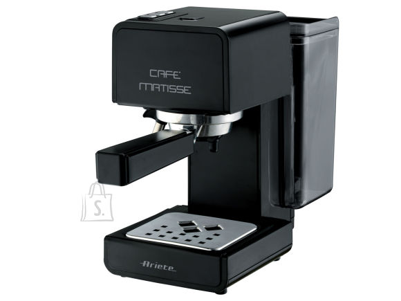Ariete Ariete Cafe Matisse Coffee Maker 1363/10 Pump pressure 15 bar, Built-in milk frother, Semi-automatic, 850 W, Black
