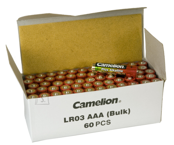 Camelion Camelion AAA/LR03, Plus Alkaline, 60 pc(s)