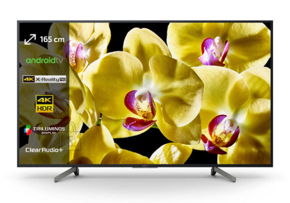 "Sony Sony KD-65XG8096 65"" (165 cm), Smart TV, 4K Ultra HD LED, 3840 x 2160, Wi-Fi, DVB-T/T2/S2/S/C, Dark silver"