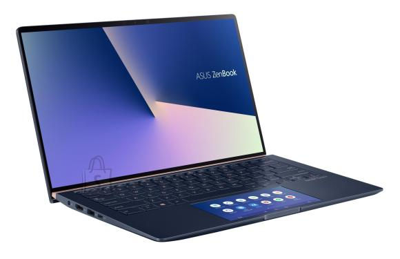 "Asus Asus ZenBook UX434FLC-A5353T Royal Blue, 14 "", FHD, 1920 x 1080 pixels, Matt, Intel Core i5, i5-10210U, 8 GB, SSD 256 GB, Intel UHD Graphics 620, NVIDIA GeForce MX250, GDDR5, 2 GB, No ODD, Windows 10 Home, 802.11ax, Bluetooth version 5.0, Keyboard language English, Keyboard backlit, Warranty 24 month(s), Battery warranty 12 month(s)"