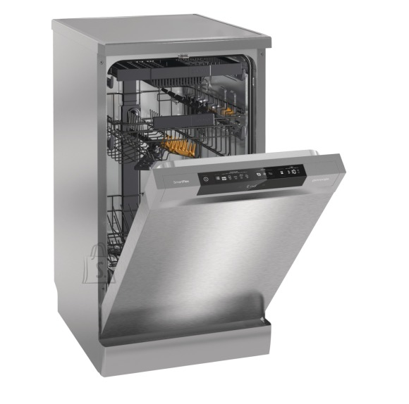 Gorenje Gorenje Dishwasher GS54110X Free standing, Width 44.8 cm, Number of place settings 10, Number of programs 3, A++, Display, Silver
