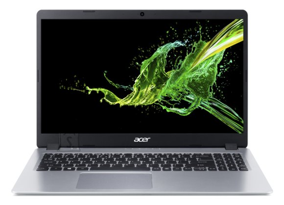 "Acer Acer Aspire 5 A515-43-R0NX Silver, 15.6 "", IPS, Full HD, 1920 x 1080 pixels, Matt, AMD, Ryzen 5 3500U, 8 GB, DDR4, SSD 256  GB, Radeon Vega 8, No ODD, Windows 10 Home, 802.11 ac/a/b/g/n, Bluetooth version 4.0, Keyboard language English, Keyboard backlit, Warranty 24 month(s), Battery warranty 12 month(s)"