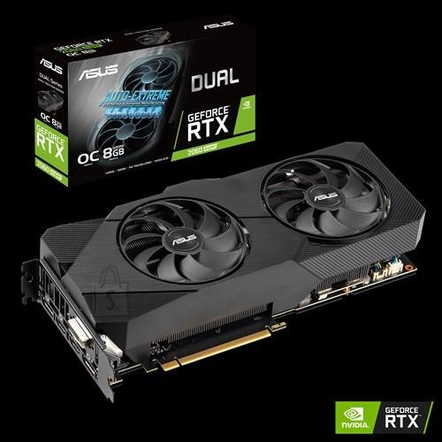 Asus Asus DUAL-RTX2060S-O8G-EVO-V2 NVIDIA, 8 GB, GeForce RTX 2060 SUPER, GDDR6, PCI Express 3.0, Processor frequency 1695  MHz, DVI-D ports quantity 1, HDMI ports quantity 2, Memory clock speed 14000  MHz