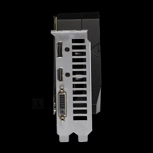 Asus Asus ASUS DUAL-GTX1660S-6G-EVO NVIDIA, 6 GB, GeForce GTX 1660 SUPER, GDDR6, PCI Express 3.0, Processor frequency 1785  MHz, DVI-D ports quantity 1, HDMI ports quantity 1, Memory clock speed 14002  MHz