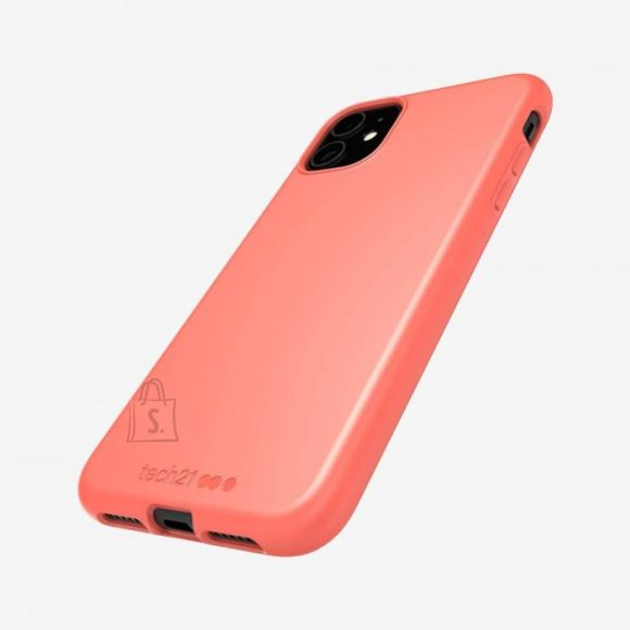 Tech21 Studio Colour T21-7266 Back cover, Apple, iPhone 11, Plant-based materials, Coral