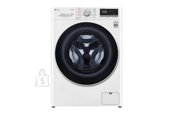 LG LG Washing machine F2WN4S6N0 A+++ -20%, Front loading, Washing capacity 6.5 kg, 1200 RPM, Depth 45 cm, Width 60 cm, Display, LED touch screen, Direct drive, Wi-Fi, White