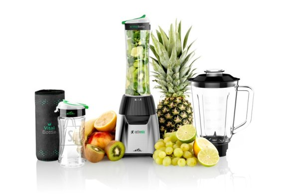 ETA ETA Blender ETA210390000 ActivMix Premium Stand blender, 350 W, Glass, 1 L, Ice crushing, Black/Stainless steel, 19000 RPM