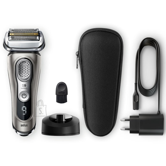 Braun Braun Shaver 9325s Cordless, Charging time 1 h, Wet use, Lithium Ion, Number of shaver heads/blades 5, Graphite