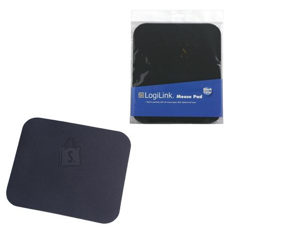 Logilink Logilink Mousepad Black, 220 x 250 mm