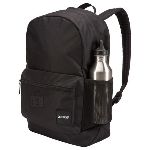 """Case Logic Case Logic Commence CCAM-1116 Fits up to size 15.6 """", Black, 24 L, Shoulder strap, Backpack"""