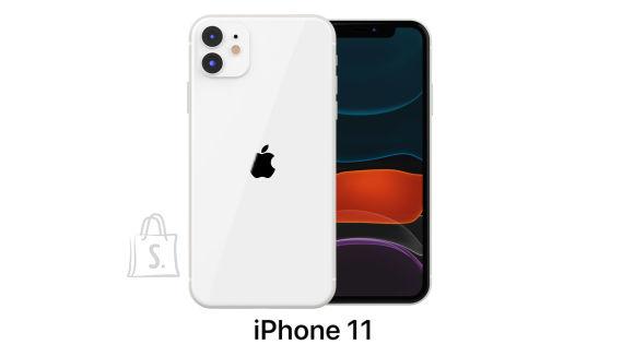 "Apple Apple iPhone 11 White, 6.1 "", IPS LCD, 828 x 1792 pixels, Hexa-core, Internal RAM 4 GB, 256 GB, Single SIM, Nano-SIM and eSIM, 3G, 4G, Main camera 12+12 MP, Secondary camera 12 MP, iOS, 13, 3110 mAh"