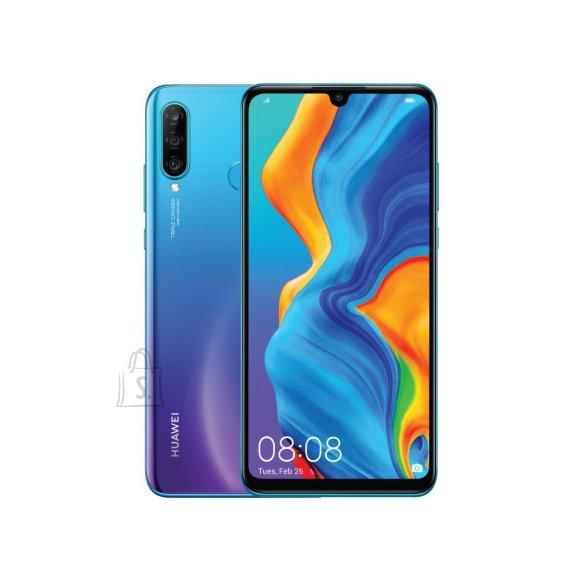 "Huawei Huawei P30 Lite 6.15 "", microSD, LTPS IPS LCD, Blue, HiSilicon Kirin, Android, Dual SIM, Nano-SIM, 9.0, 710, 1080 x 2312 pixels, 3340 mAh, Internal RAM 4 GB, 128 GB, Main camera Triple 48+8+2 MP, Secondary camera 24 MP, 3G, 4G"