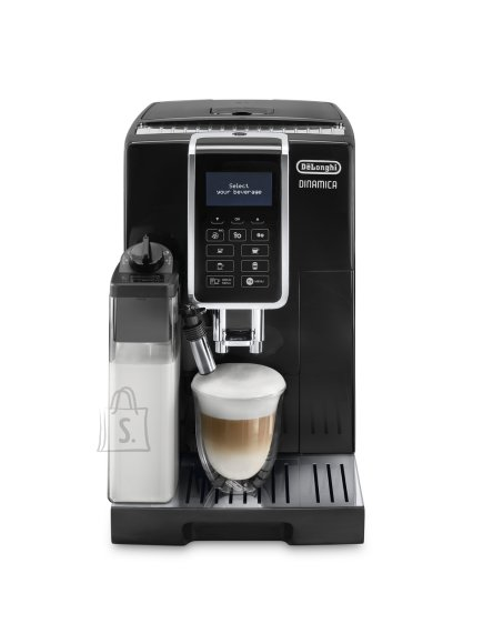 DeLonghi Delonghi Coffee maker ECAM 350.55.SB Dinamica Pump pressure 15 bar, Built-in milk frother, Fully automatic, 1450 W, Black