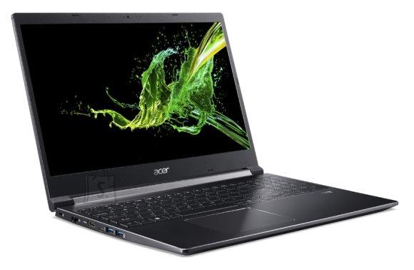 "Acer Acer Aspire 7 A715-74G-5559 Charcoal Black, 15.6 "", IPS, Full-HD, 1920 x 1080 pixels, Matt, Intel Core i5, i5-9300H, 8 GB, DDR4, SSD 256 GB, NVIDIA GeForce GTX 1050, GDDR5, 3 GB, No ODD, Windows 10 Home, 802.11 ax/ac/a/b/g/n, Bluetooth version 5.0, Keyboard language English, Keyboard backlit, Warranty 24 month(s), Battery warranty 12 month(s)"