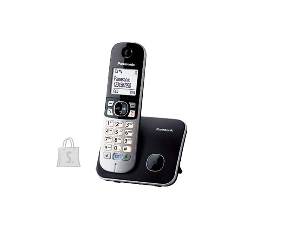 Panasonic Panasonic Cordless KX-TG6811FXB Black, Caller ID, Wireless connection, Phonebook capacity 120 entries, Conference call, Built-in display, Speakerphone