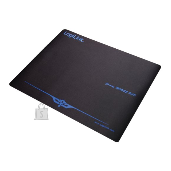 Logilink Logilink Mousepad XXL Black, Gaming mouse pad, Rubber, 400 x 3 x 300 mm