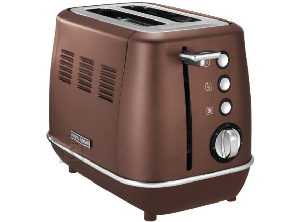 Morphy Richards Morphy richards Evoke Toaster 224401 Power 850 W, Number of slots 2, Housing material Stainless steel, Bronze