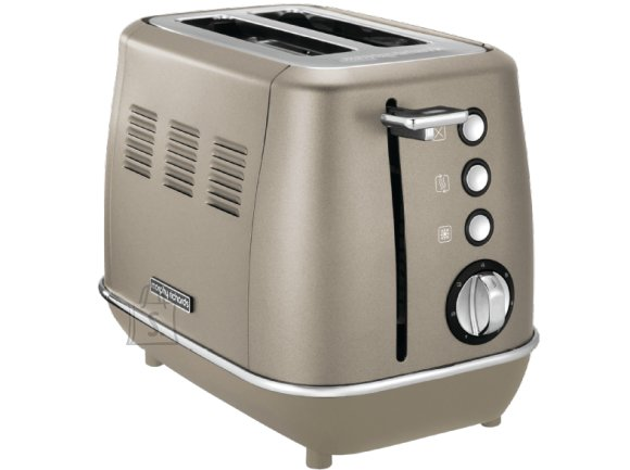 Morphy Richards Morphy richards Evoke Toaster 224403 Power 850 W, Number of slots 2, Housing material Stainless steel, Platinum