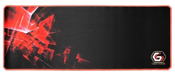 Gembird Gembird Gaming mouse pad PRO, extra large, Black/Red, Extra wide pad surface size 350 x 900 mm