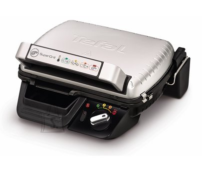 Tefal TEFAL SuperGrill Standard GC450B32 Contact, 2000 W, Stainless steel