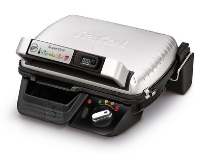 Tefal TEFAL SuperGrill Timer Multipurpose grill  GC451B12 Contact, 2000 W, Stainless steel