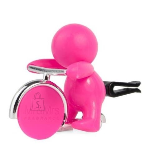 Mr&Mrs Mr&Mrs GINO Scent for Car, Fuschsia, with magnetic token, Citrus and Musk
