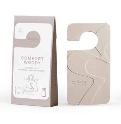 Mr&Mrs Mr&Mrs Miss Door Fragrance tag, Comfort woody
