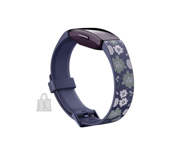 Fitbit Fitbit Inspire Print Accessory Band, small, bloom