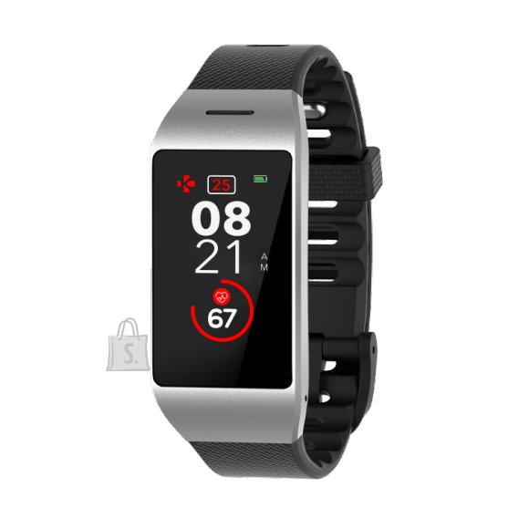 MyKronoz MyKronoz Smartwatch Zeneo Silver/ black, 220 mAh, Touchscreen, Bluetooth, Heart rate monitor, Waterproof, IP67 m