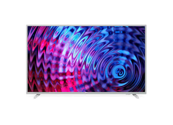 "Philips Philips 43PFS5823/12 43"" (108 cm), Smart TV, Full HD Ultra Slim LED, 1920 x 1080 pixels, DVB-T/T2/T2-HD/C/S/S2, Silver"