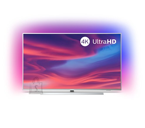 "Philips Philips 65PUS6804/12 65"" (165 cm), Smart TV, 4K UHD LED, 3840 x 2160, Wi-Fi, DVB T/C/T2/S/S2, Silver"