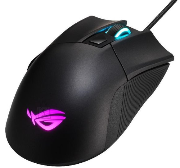 Asus Asus P507 ROG GLADIUS II CORE Gaming, Wired, Optical USB mouse