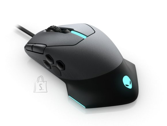 Dell Dell Alienware Gaming Mouse AW510M Wired gaming mouse, Dark Grey