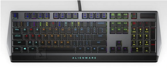 Dell Dell AW510K, Wired, Mechanical Gaming Keyboard, RGB LED light, EN, Dark Gray, USB,