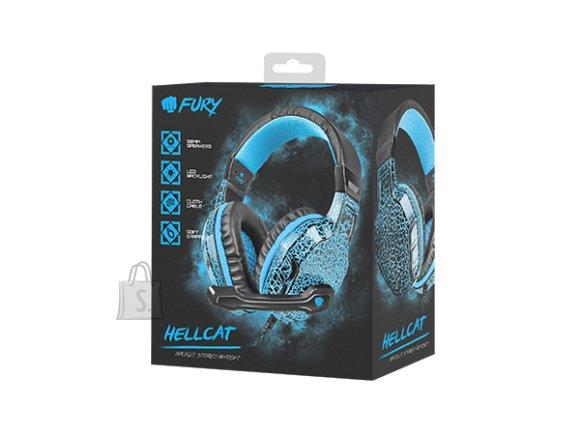 Fury Hellcat mänguri kõrvaklapid NFU-0863