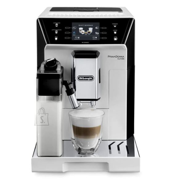DeLonghi Delonghi Coffee maker ECAM 550.55.W PrimaDonna Class Pump pressure 19 bar, Built-in milk frother, Fully automatic, 1450 W, White