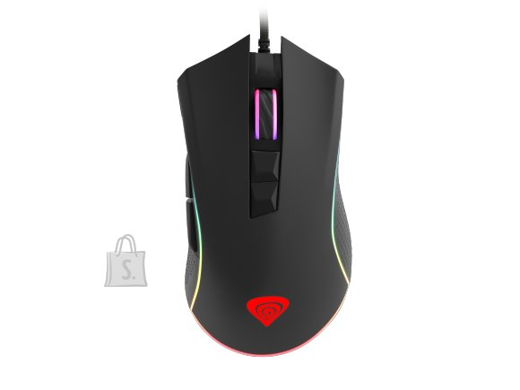 GENESIS Krypton 770 Gaming Mouse, 12000DPI, Wired, Black
