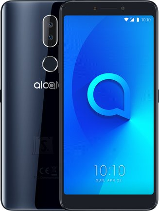 "Alcatel Alcatel 3v Spectrum 5099D Black, 6 "", IPS LCD, 1080 x 2160, Mediatek, MT8735A, Internal RAM 2 GB, 16 GB, microSD, Dual SIM, Nano-SIM, 3G, 4G, Main camera Dual 12+2 MP, Secondary camera 5 MP, Android, 8.0, 3000 mAh"