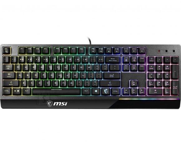 MSI MSI Vigor GK30 Gaming Keyboard, US Layout, Wired, Black