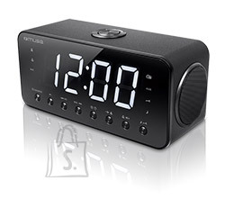 Muse Muse Clock radio  M-192CR Black, Display : 1.8 inch white LED with dimmer