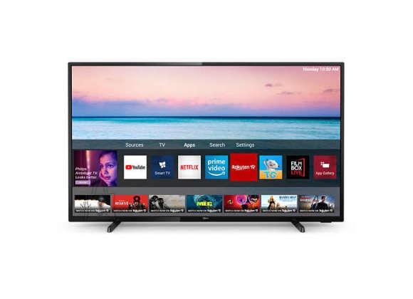 "Philips Philips 50PUS6504/12 50"" (126 cm), Smart TV, UHD LED, 3840 x 2160 pixels, Wi-Fi, DVB-T/T2/T2-HD/C/S/S2, Black"