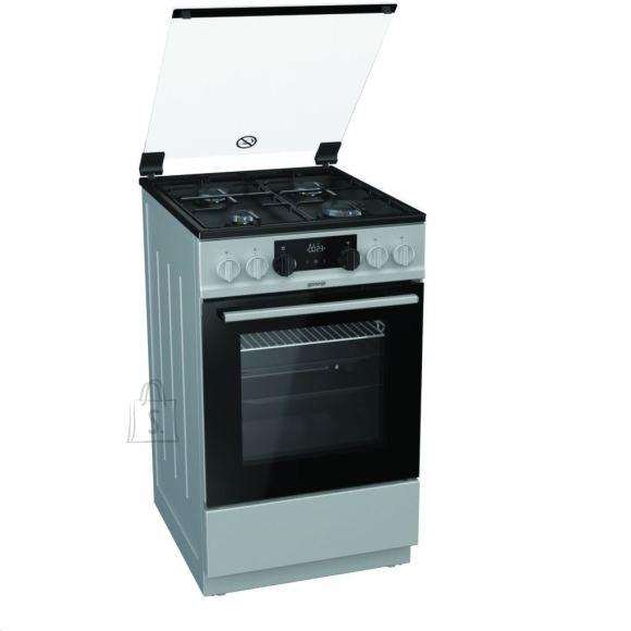 Gorenje Gorenje Cooker K5341SJ Hob type  Gas, Oven type Electric, Inox, Width 50 cm, Electronic ignition, Grilling, LED, 62 L, Depth 60 cm