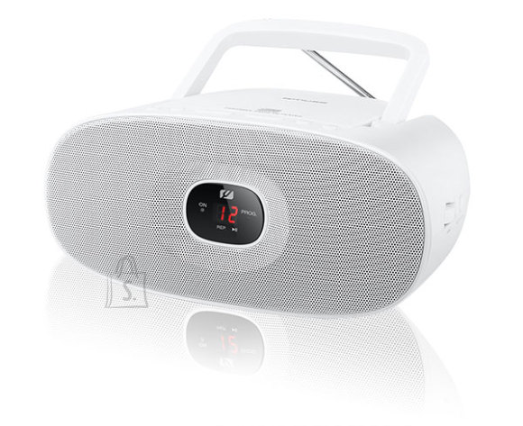 Muse Muse MD-202RDW White, Portable radio CD player,