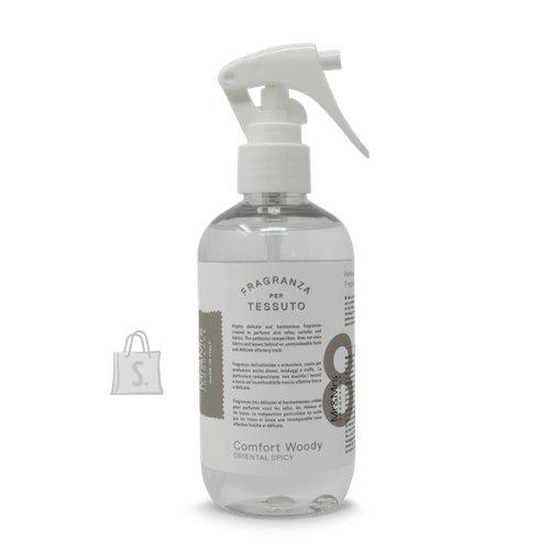 Mr&Mrs Mr&Mrs Laundy spray TESSUTO JLAUSPR082 Comfort Woody: Bergamot, Orange Blossom, Cedar Wood, 250 ml